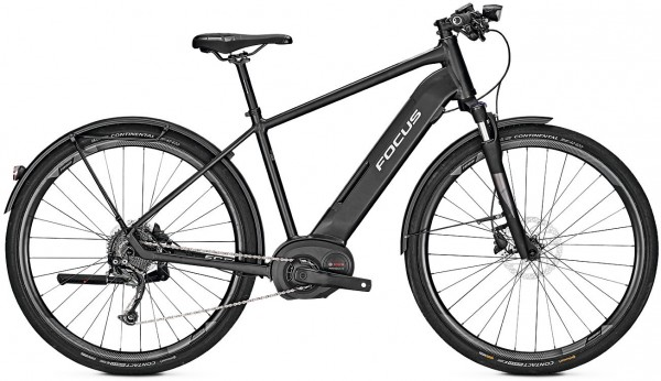 TOP-Focus Planet² 6.7 E-Bike TREKKING Black in M,L oder XL+0€ VERSAND